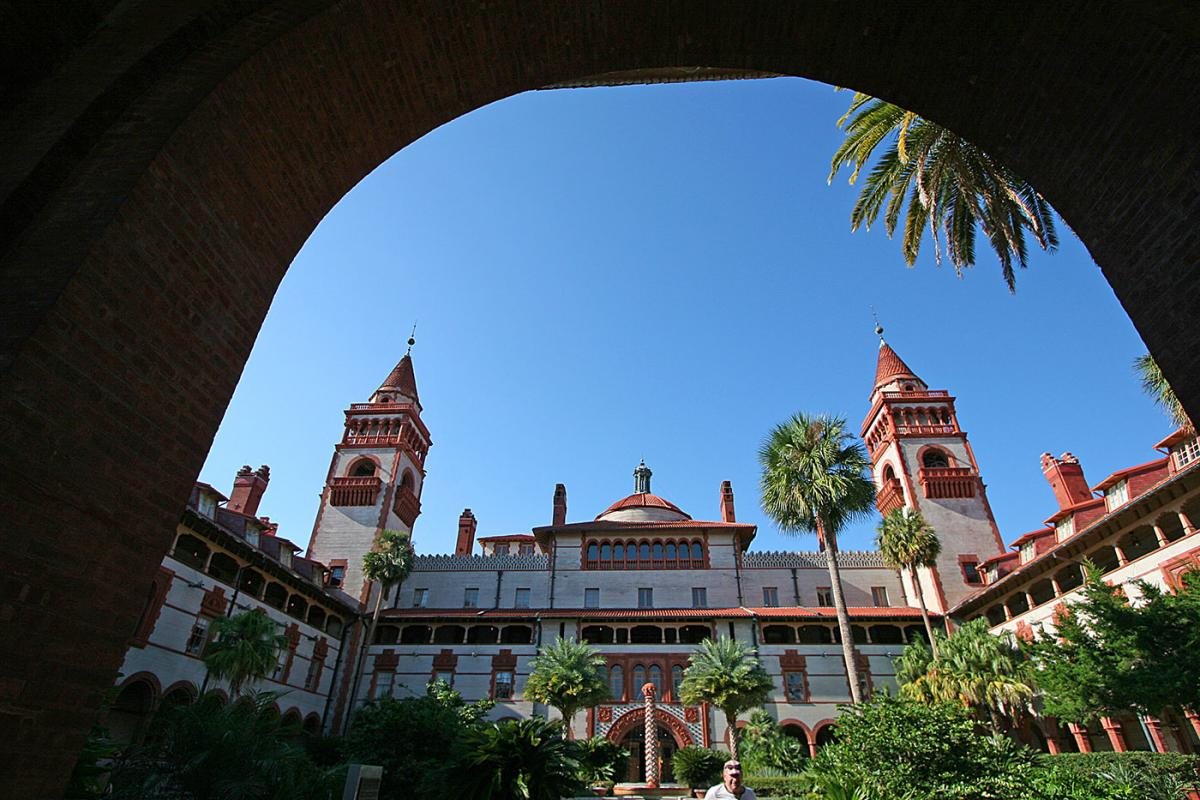 The Ponce de Leon Hotel in St. Augustine.