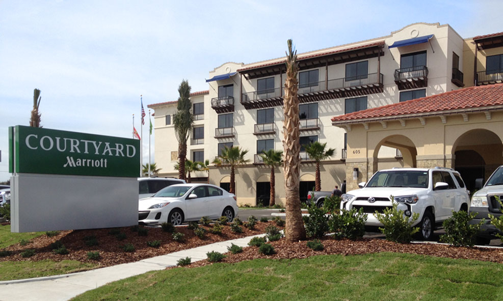 The Courtyard Marriott St Augustine Beach Is Located Just A Block Away From Beautiful