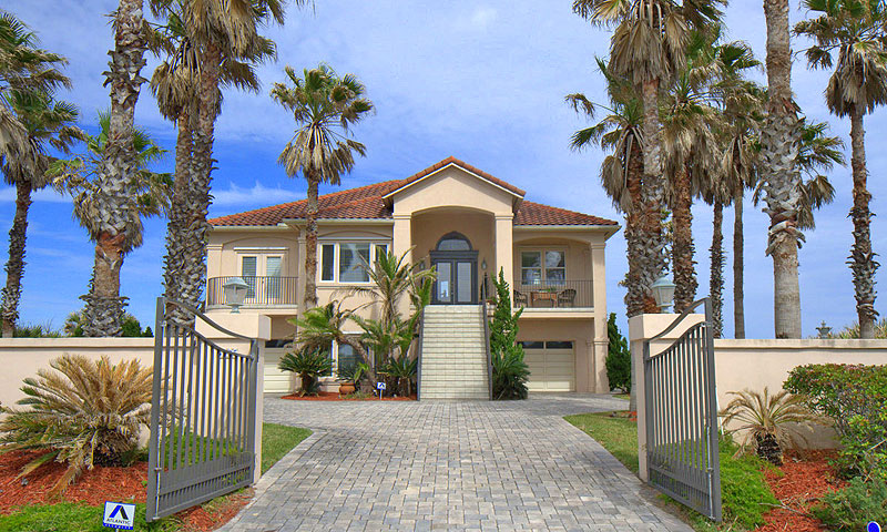 Vacation rental pros st augustine fl ocean side waterfront for Inexpensive lakefront property