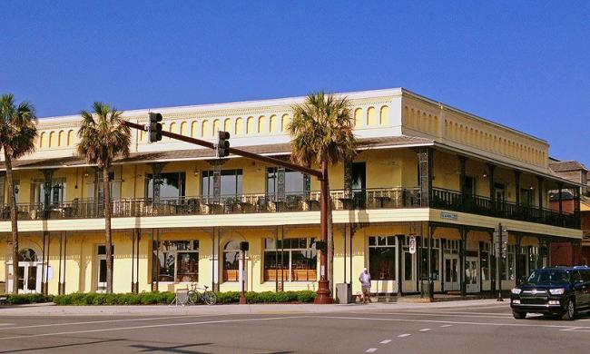 South-A-Philly is located at 1 King Street, in the heart of downtown St. Augustine.