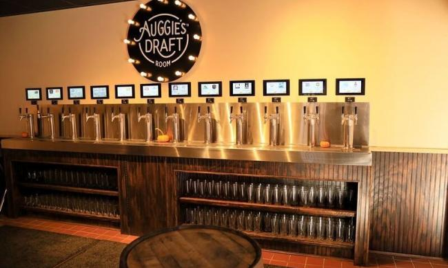 taps at Auggie's Draftroom in St. Augustine, Fl