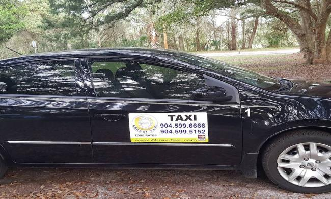 Abraxi Taxi is available for rides in St. Augustine, FL