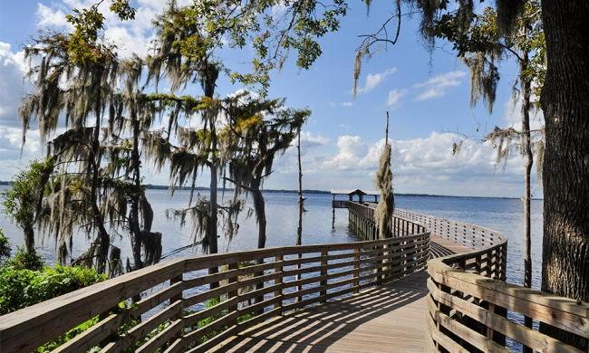 Alpine Groves Park is located on the beautiful St. Johns River in northwest St. Johns County, Florida.