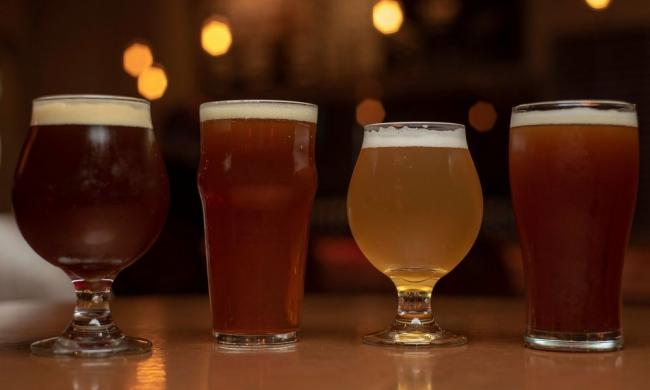 Brews poured for visitors taking the Ancient City Pour Tours in St. Augustine.
