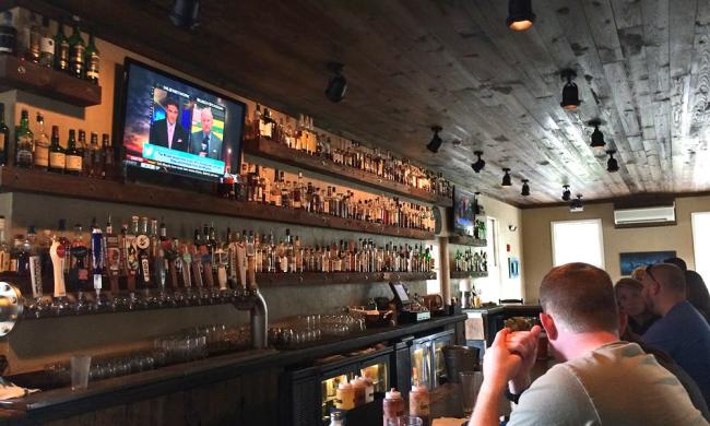 Mojo's in downtown St. Augustine offers a full bar and all the sports you can watch.