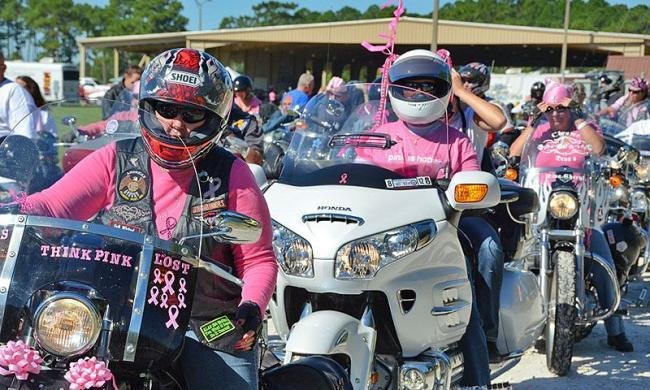 The Unity Pink Motorcycle Ride is one of many events that have been changed due to the coronavirus.