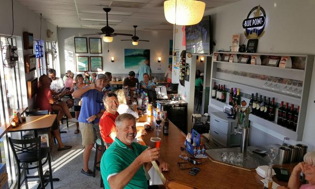 The interior of the Back 40 A1A in St. Augustine.