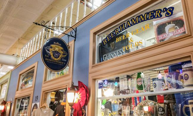 Beerhammer's in St. Augustine, Florida, specializes in an array of beer accessories.