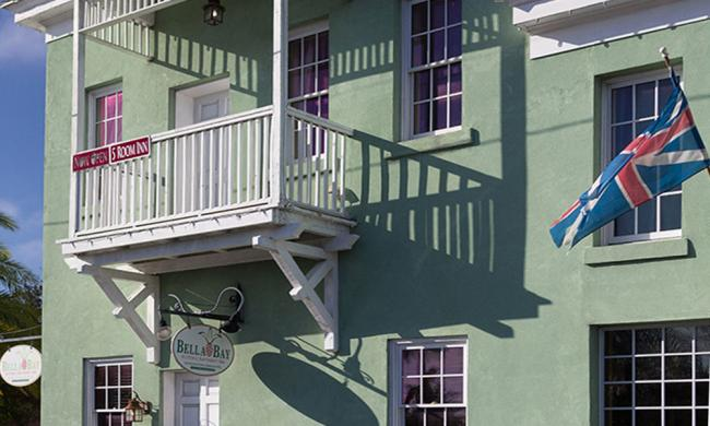 The Bella Bay Inn is located on the historic bayfront of St. Augustine, Florida.