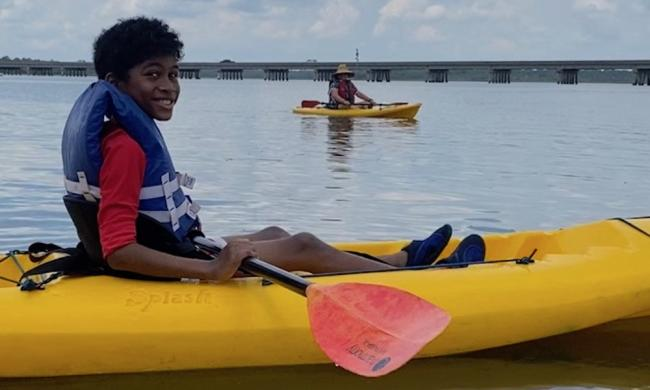 A kayak trip with GeoTrippin' Adventure Co. of St. Augustine.