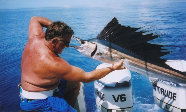 Catch some Sailfish in St. Augustine with deep sea fishing with Captain Ron.