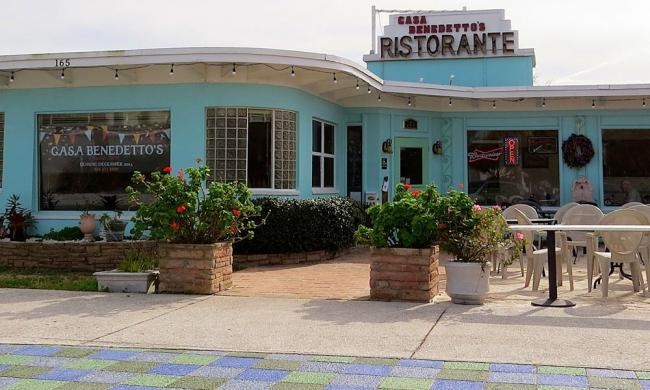 Casa Benedetto's Restaurant on Vilano Beach is a hidden gem in St. Augustine.