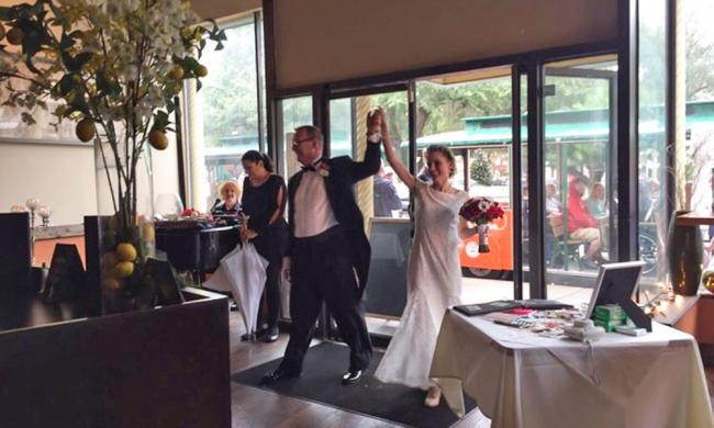 Centro offers complete services to host an elegant wedding reception or special event.