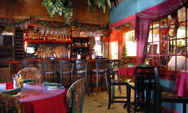 The Chianti Room in St. Augustine at the entrance on 60 Charlotte Street.