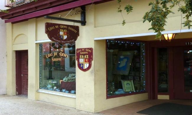 Coat of Arms Shoppe in St. Augustine, FL