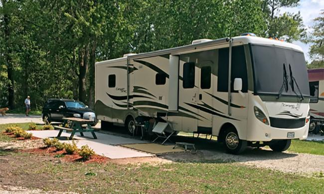 Compass RV Park is located just south of historic St. Augustine.