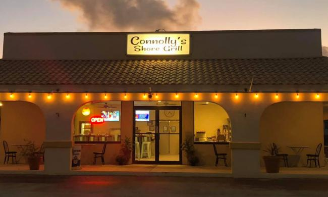 Connolly's Shore Grill in St. Augustine.