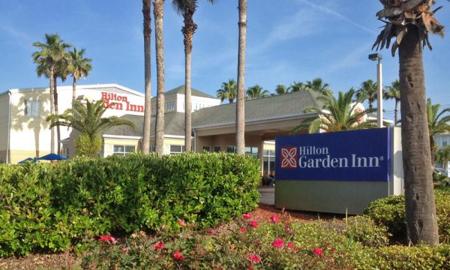 The Hilton Garden Inn on St. Augustine Beach, Florida