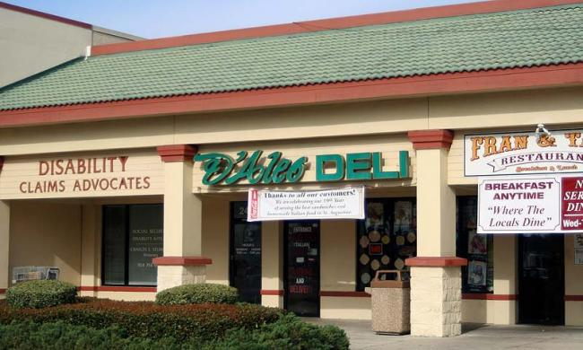 D'Aelo Italian Deli at Lewis Point Plaza in St. Augustine.