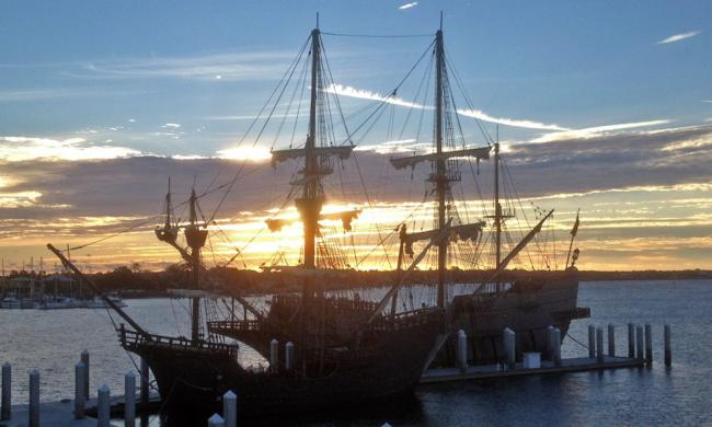 The tall ship El Galeon is open for tours every day when docked in St. Augustine.