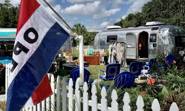 The Vilano Beach Market at Airstream Row will host Family StoryFest May 22, 2021.