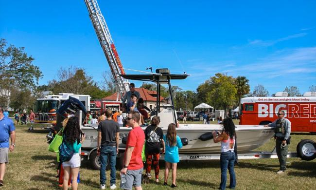 Ancient City Kids Day is a popular annual event in St. Augustine, FL.
