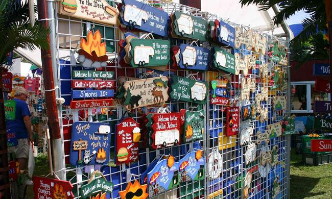 Arts and crafts festival at the pier st augustine fl for Arts and crafts shows in florida