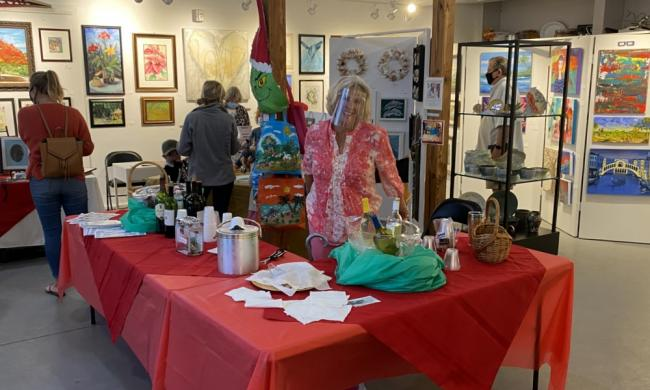 Art Walk features indoor and outdoor spaces along A1A in St. Augustine Beach.
