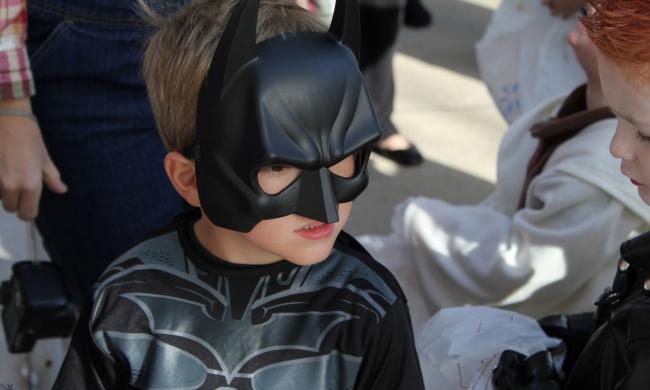 The Halloween tradition of trick-or-treating along north St. George Street continues in 2021!