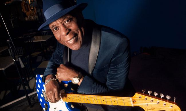 Rock 'n' Roll Hall of Famer Buddy Guy returns to the Amphitheatre for a live concert with the Kenny Wayne Shepherd Band.