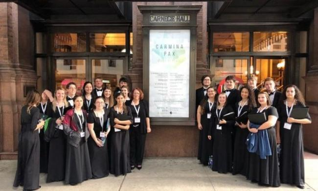 Bartram Trail High School choirs will perform during Romanza Festivale May 13, 2021, at Ancient City Baptist Church.
