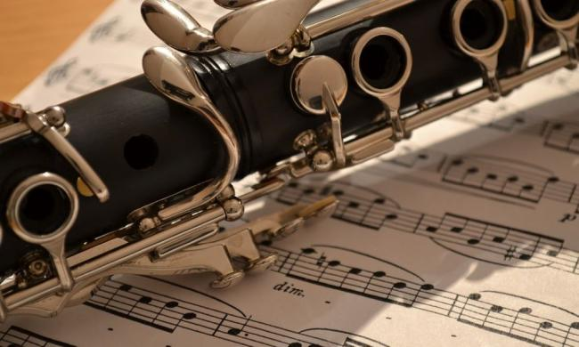 """Musicians Anna de Prospero and Steve Marr will present """"Clarinet/Piano Reflections"""" Wednesday, May 12, 2021."""