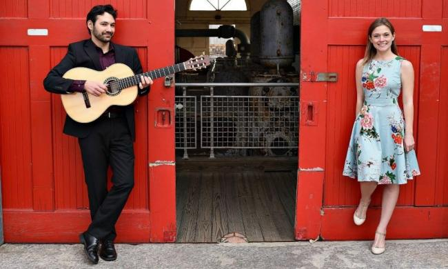 Soprano Keri Lee Pierson and classical guitarist Christopher Schoelen, the Deux Saisons, will perform at Ancient City Baptist Church.
