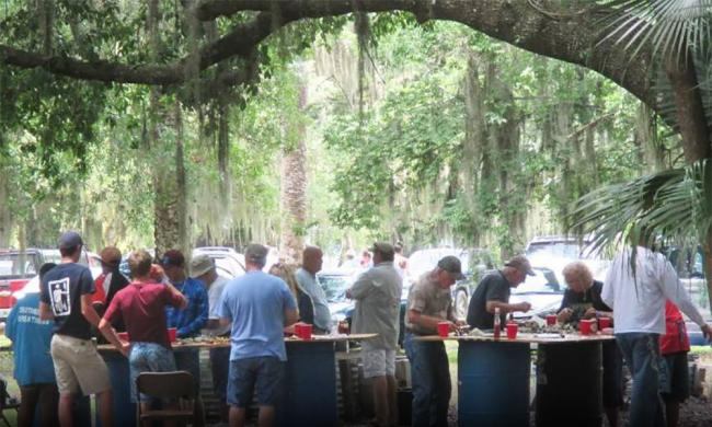 Fish fry and oyster roast visit st augustine for Public fish and oyster