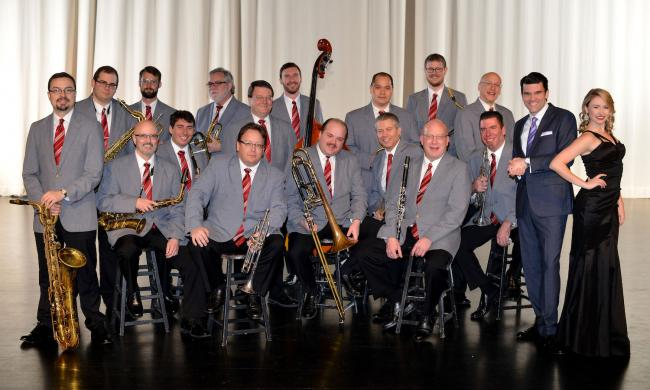 EMMA Concerts presents the Glenn Miller Orchestra in a live performance at Lewis Auditorium in St. Augustine.