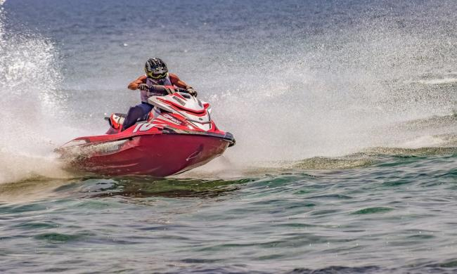 Watercross racers compete for more than $150,000 in prizes.
