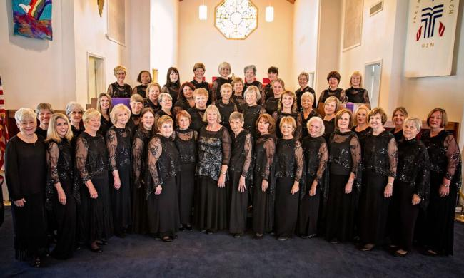 The North Florida Women's Chorale has been performing throughout Northeast Florida for more than 30 years.