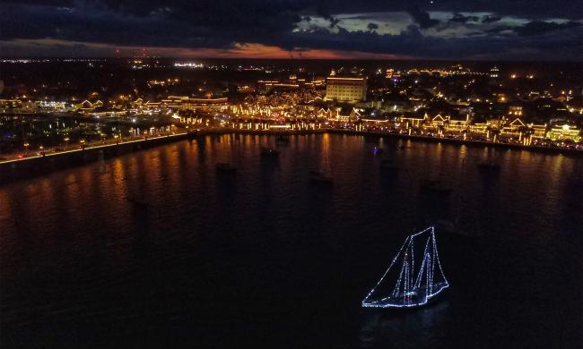 The Christmas Schooner 2020 Schooner Freedom Nights of Lights Sails 2020 21 | St. Augustine, FL