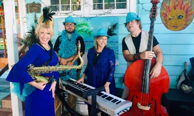 The Teal Cabana Club will play during an Evenings on Airstream Row concert Friday, April 9, 2021.