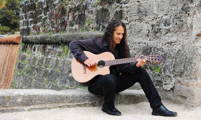 Dennis Fermin is a local favorite for his unique Spanish classical guitar sound.