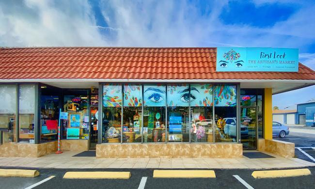 The exterior of First Look, the Artisan's Market on San Marco in St. Augustine.