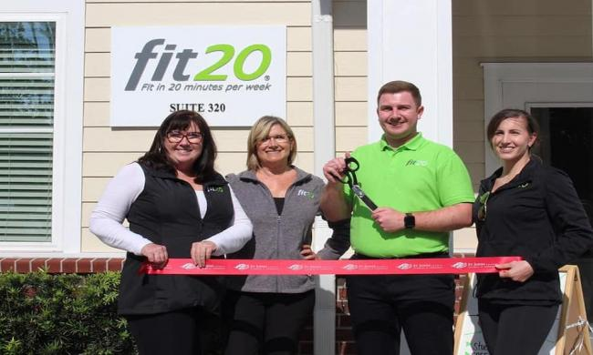 Opening day at  fit20 Nocate in Ponte Vedra, FL.