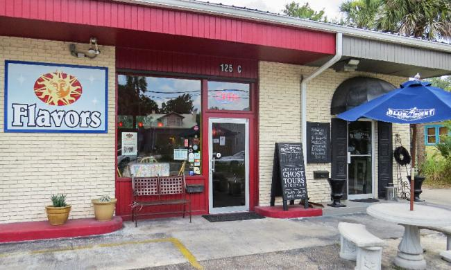 Flavors Eatery in St. Augustine, FL.