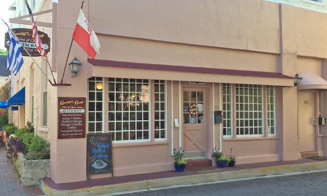 Gaufre's and Goods offers Polish, Greek, and traditional European fare iin St. Augustine, FL.