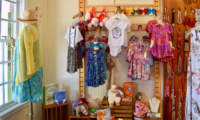 Clothes and Jewelry at Go Fish in St. Augustine, Fl