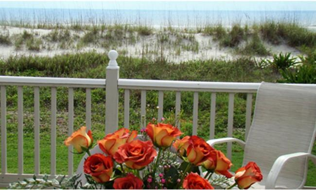 Views from the House of Sea and Sun in St. Augustine Beach