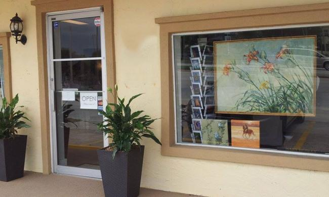 The Hubley Gallery in St. Augustine Beach offers fine art and crafts from regional artists.
