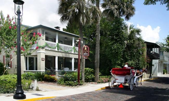 The Inn on Charlotte is located in the heart of historic St. Augustine, Florida.