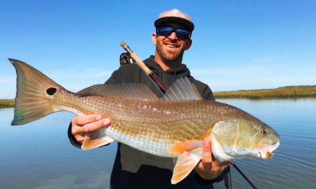Inshore fishing with Island Fishing Charters in St. Augustine, FL