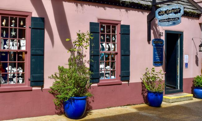 J.R. Benet offers high-quality and fairtrade jewelry in the heart of St. Augustine's historic district.
